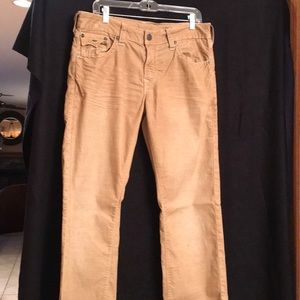 True Religion men's corduroy jeans
